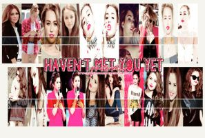 Haven't met you yet PSD by DhestinyMeet