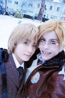 Hetalia: In the Snow by gomimushi