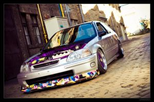 Honda Civic 02 by miki3d