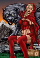 Red Riding Hood Reboot by MarcBourcier