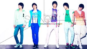 SHINee: The 1st MiniAlbum WALL by ShyraSakuso