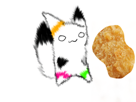 PUT A SEXY SMILE ON DAT NUGGET by Emmy-Izawa