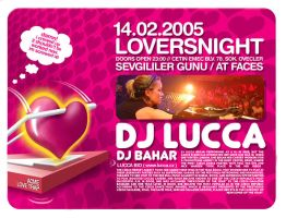 14 feb. loversnight dj lucca by can