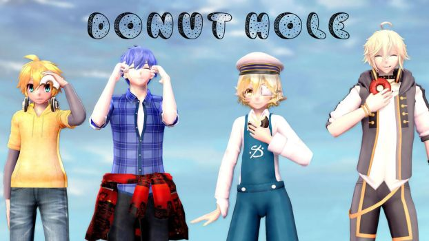 Mmd Donut Hole [Oliver Len Kaito Yohioloid] by rubifanfic