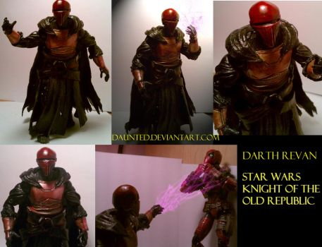 Darth Revan OOAK Custom Figure by daunted