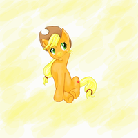 applejack by xephier321