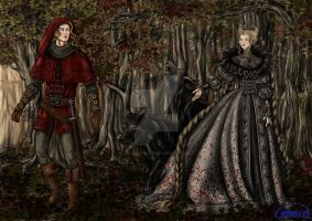 Little Red Riding Hood by Yagellonica