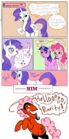 Rarity wants HIM... MLP comic by Kyun-Kun