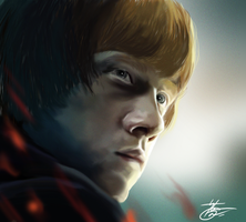 Ron Weasley by ArchXAngel20