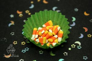 Mini Candy Corn by TwineBirds