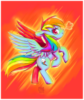 Raging Rainbow by NauticalSparrow