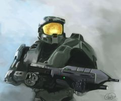 The Master chief by glennymaster