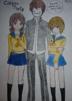 Cry at the Corpse Party x3 by Trisha-Meow
