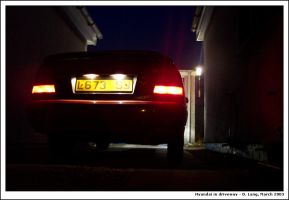 Hyundai in driveway by anotherview