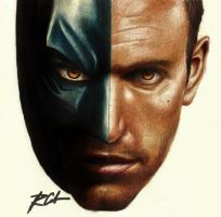 Ben Affleck the Batman by rommeldrawlines-12