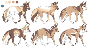 ADOPTABLES .:CLOSED:. Batch 5 by Mireille-Adopts