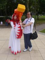 Amecon 2012 Mangamad with White Mage by Mangamad
