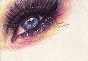 Eye Sketch by jacintabrowning