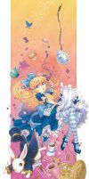 Alice's Adventures in Wonderland by yukiusagi1983