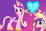 Princess Cadence Wallpaper by Luuandherdraws
