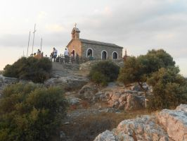Little church of Prophet Elias (Greece) by LupusLazy