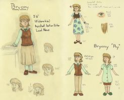 Bryony Ref Sheet 2011 by ChibiLina-chan