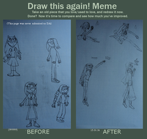 meme before and after- Thannesius Marina Telra Joa by 03-Marina-the-cat