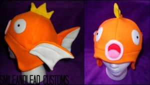 Magikarp Hat by SmileAndLead