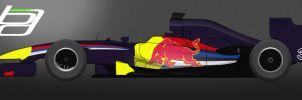 F1 Red Bull Racing Livery by brandonseaber