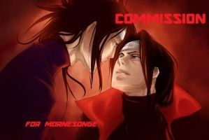 Itachi and Madara by Oriental-Lady
