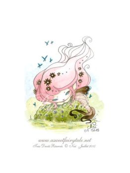 Aquarelle Baby Fairy by Nailyce