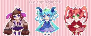 Adoptable Auction Set 1 [OPEN] by Kunniki