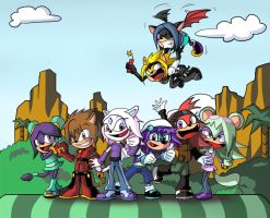 Sonic Riders by Master-Angel