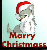 wish you a marry christmass by wolfynighteyes