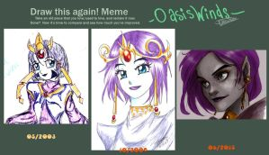 Draw It Again And Again And Again Meme by oasiswinds