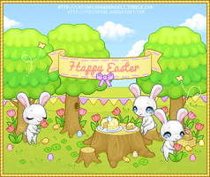 Pixel - Happy Easter Party by firstfear