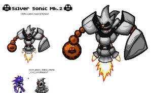 Silver Sonic 2.0 by Noland005
