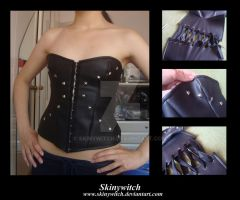 Studded Corset Top by skinywitch