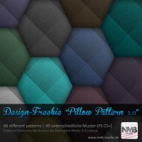 49 Pillow Background Pattern 2.0 /w noise effect by Hexe78