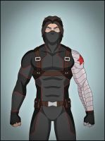 Winter Soldier by DraganD