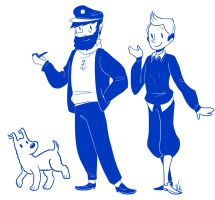 Tintin by AskPrincesMultifruit