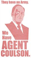 Agent Coulson Red by TheNoirGuy