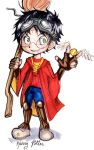 Harry Potter chibis - Harry by fluffy-fuzzy-ears
