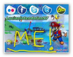 Super Mario Sunshine Picture edit by me by lucianintendofan97