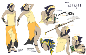 taryn ref by Appletail