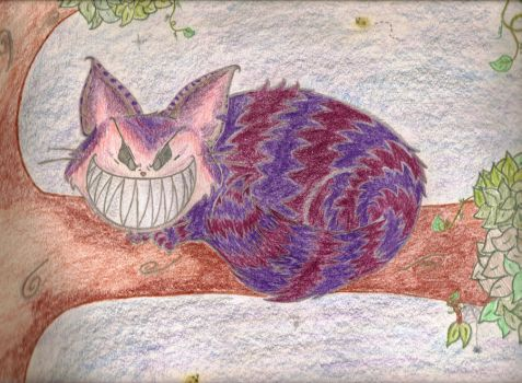 The Cheshire Cat by cLaAaNdEsTiNe