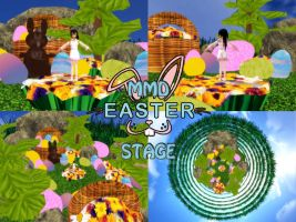 MMD EASTER STAGE -Download- by SachiShirakawa