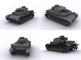 Panzer 4 by FrZnChAoS