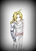 The Fullmetal Alchemist by Cybiline