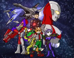 Star Fox-Ultra Chronicles Poster by Onore-Otaku